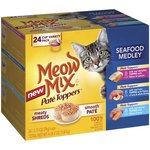 Meow Mix Pate Toppers - Seafood Medley