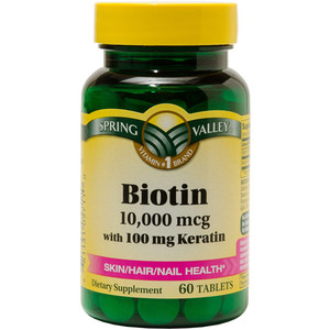 Is taking 10000 mcg of biotin safe