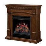 Dimplex 20-Inch Electric Fireplace, Burnished Walnut