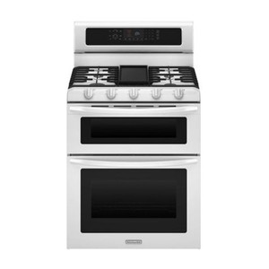 Kitchenaid 30-Inch Freestanding Double Oven Range