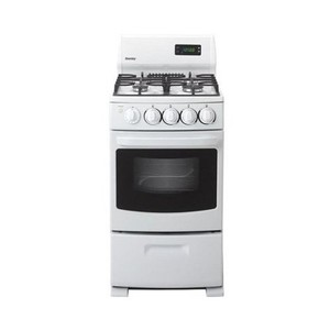 Danby In. Ultra-Compact Gas Range - White