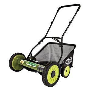 Sun Joe Mow Joe 18-Inch Manual Reel Mower with Catcher