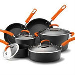 Rachael Ray Hard Anodized Aluminum Nonstick Cookware