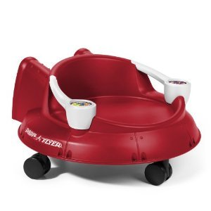 Radio Flyer Spin 'n Saucer Ride On