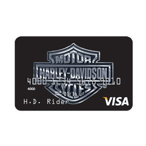 Visa - Harley-Davidson Secured