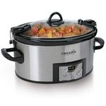 Crock-Pot Programmable Oval Slow Cooker