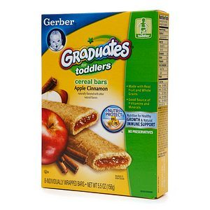 Gerber Graduates Fruit & Cereal Bars