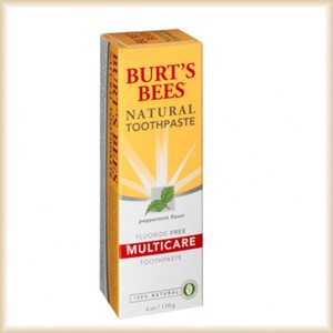 Burt's Bees Natural Fluoride Multicare Peppermint Toothpaste