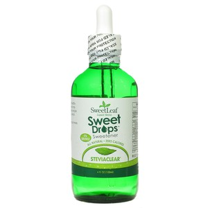 SweetLeaf Sweet Drops Stevia Extract Clear Liquid Dietary Supplement