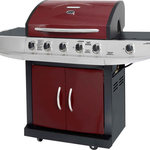 Brinkmann 5-Burner Gas Grill with Side Burner