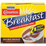 Nestle Carnation Instant Breakfast Complete Nutritional Drink - Rich Milk Chocolate