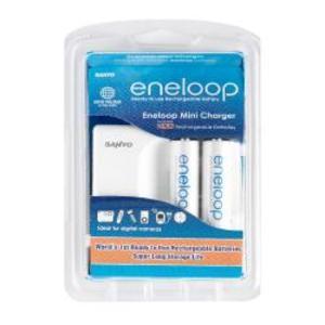Sanyo eneloop Compact Battery Charger GESMDR02TG3U