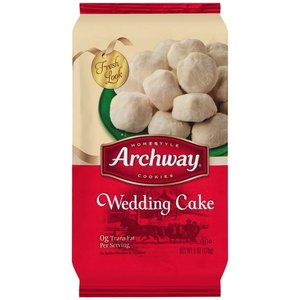 Archway Wedding Cake Cookies