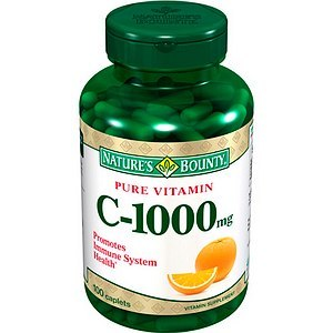 Nature's Bounty Pure Vitamin C Capsules, 1000 mg