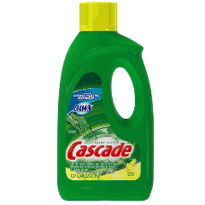 Cascade with Dawn Gel Dishwasher Detergent