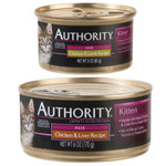 Authority Canned Cat Food