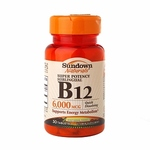 Sundown Naturals Super Potency Sublingual B12 Vitamins