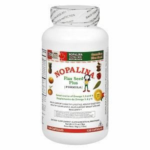 Nopalina Flax Seed Plus Formula Dietary Supplement