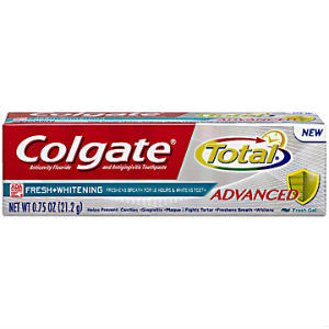 Colgate Total Advanced Fresh Plus Whitening Toothpaste