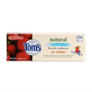 Tom's of Maine Natural Anticavity Fluoride Toothpaste for Children