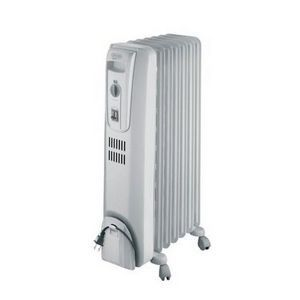 DeLonghi Portable Oil-Filled Electric Radiator Heater