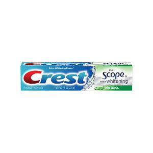 Crest Extra White Plus Scope Mint Splash Toothpaste