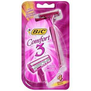 BIC Comfort 3 Razor for Women - Sensitive Skin