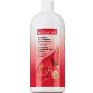 Avon NATURALS Strawberry & Guava Revitalizing 2 in 1 Shampoo and Conditioner