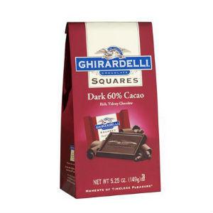 Ghirardelli Squares - 60% Cacao Dark Chocolate