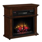 Duraflame Bennington Infrared Rolling Mantel in Meridian Cherry