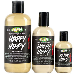 LUSH Happy Hippy Hair and Body Gel