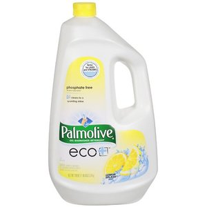 Palmolive eco+ Gel Dishwasher Detergent - Lemon Splash