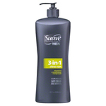 Suave Men 3-in-1 Shampoo, Conditioner and Body Wash