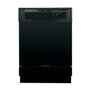 "GE 24"" Black Full Console Dishwasher - Energy Star"