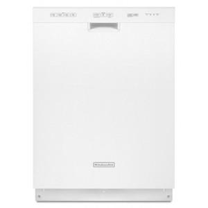 """KitchenAid Classic 24"""" White Full Console Dishwasher - Energy Star"""