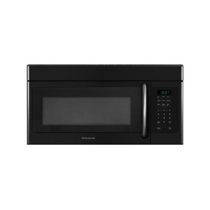 Frigidaire 1.6 Cubic Foot Over-The-Range Microwave with Fits-More Capacity, 1,100 Watts and, Black