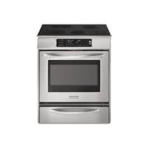 KitchenAid Architect Series II - Electric Range with Warming Drawer - Built-in - Premium stainless Steel -