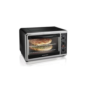 Hamilton Beach Brands Toaster Oven/Broiler With Convection, Rotisserie, Large Capacity