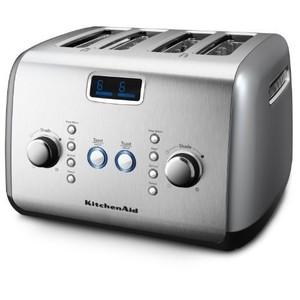 KitchenAid 4-Slice Toaster, Contour Silver