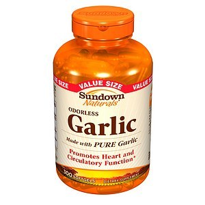 Sundown Naturals Odorless Garlic Softgels