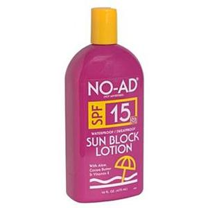 NO-AD Sun Block Lotion SPF 15