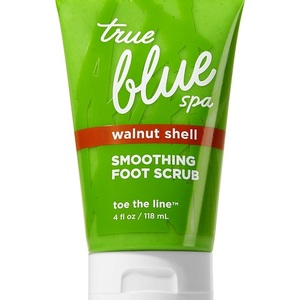 Bath & Body Works True Blue Spa Toe the Line Smoothing Foot Scrub