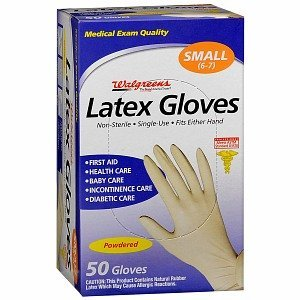 Walgreens Latex Gloves