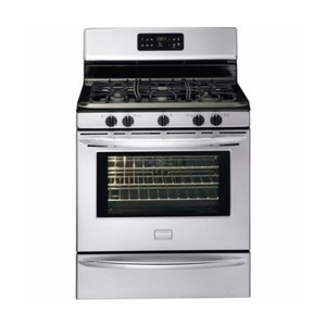 "Frigidaire DGGF3042KF Gallery 30"" Stainless Steel Gas Sealed Burner Range - Convection"