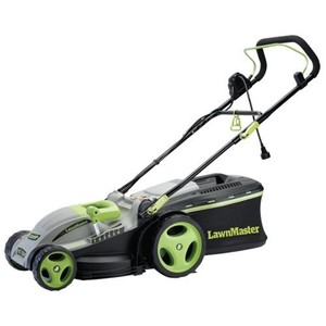 LawnMaster MEB1016M 15-Inch 2-in-1 Electric Mulching Mower