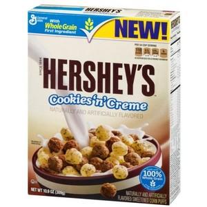 General Mills Hershey's Cookies 'n Creme Cereal