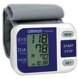 Omron Portable Wrist Blood Pressure Monitor HEM629