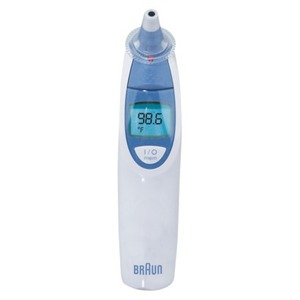 Braun Thermoscan Ear Thermometer with ExacTemp Technologies (Braun)