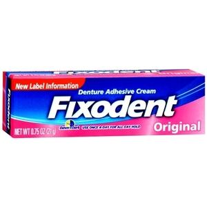 Fixodent Denture Adhesive Cream