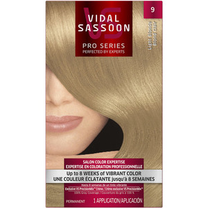 Vidal Sassoon Pro Series Hair Coloring